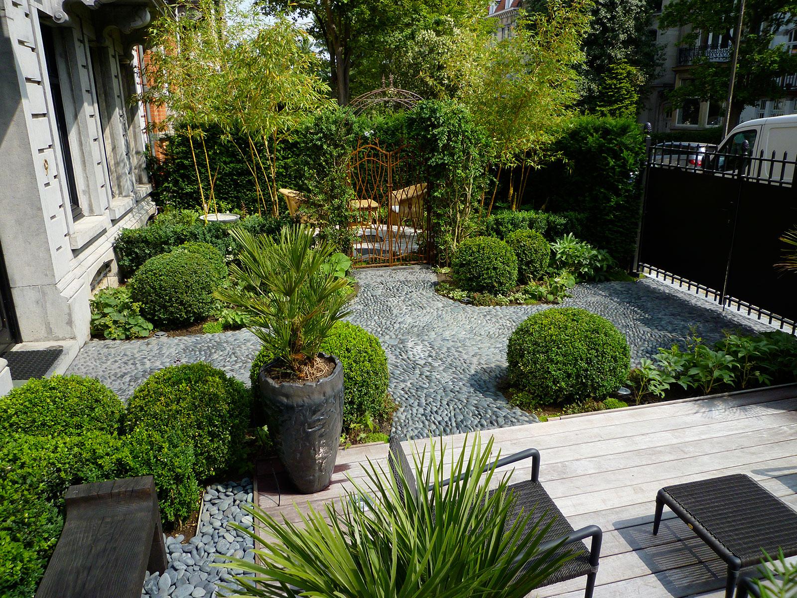 Cr ations entre ciel et vert for Restaurant le jardin en ville